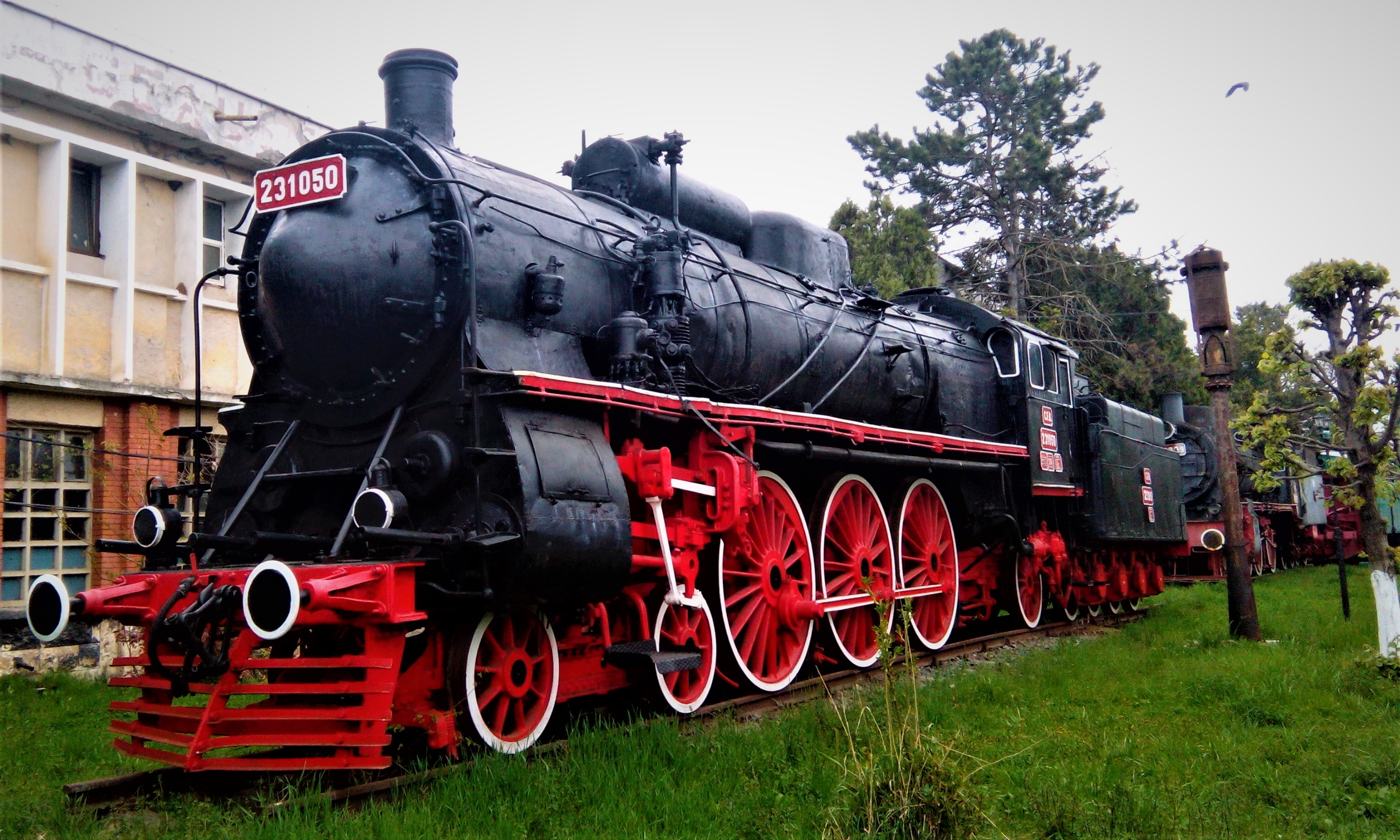 Muzeul locomotivelor Dej-Triaj