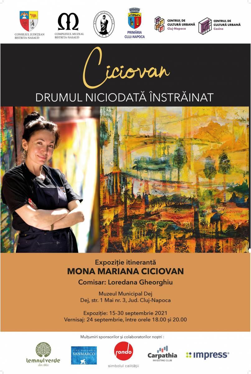 Vernisajul expoziției itinerante DRUMUL NICIODATĂ ÎNSTRĂINAT, Mona M. Ciciovan